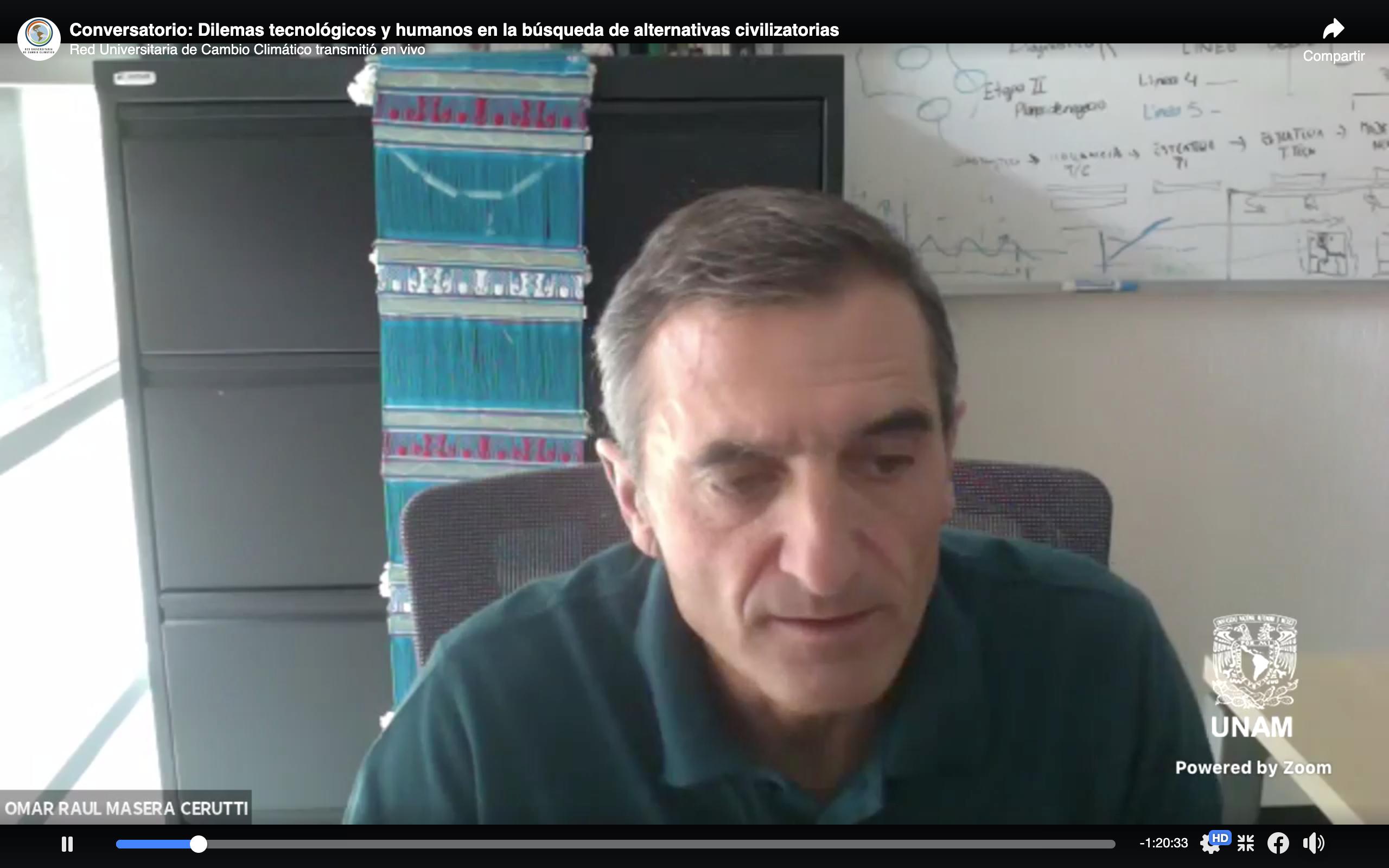 Conversatorio: Dilemas tecnológicos y humanos en la búsqueda de alternativas civilizatorias